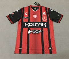 [JOE] Adult Club Necaxa Away Red And Black Soccer Jersey 2017/18