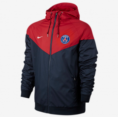 Adult Paris Red And Blue Windbreaker 2017/18