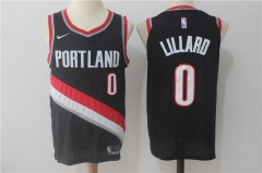 [JOE] Damian Lillard #0 Nike Portland Trail Blazers Icon Edition Swingman Jersey - Black/White