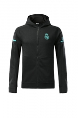 [JOE] Adult Real Madrid Black Z.N.E. Hoodie 2017/18 #LH