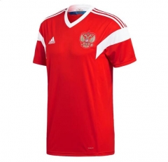 2018 World Cup Russia Home Red Soccer Jersey Shirts