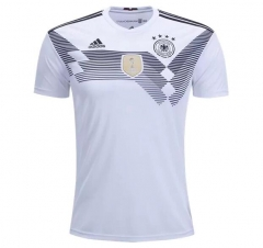 2018 World Cup Germany Home White Soccer Jersey