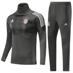 2018 Bayern Munchen UEFA Champion League High Collar Pre-Match Training Suit