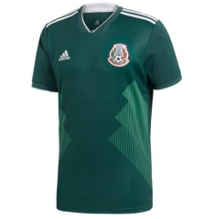 2018 Mexico Home Green Soccer Jersey Shirts