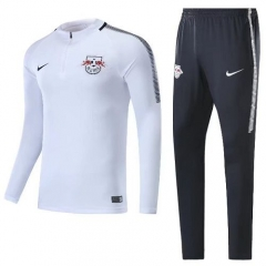 2017-2018 RB Leipzig 1/4 zip squad Mid Collar Pre-Match Training Suit