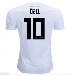 2018 Germany #10 OZIL Home White Soccer Jersey Shirts