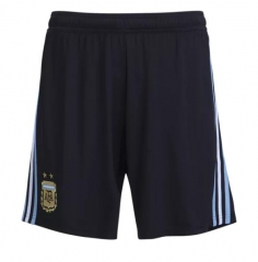 2018 Men's Argentina Home Black Short