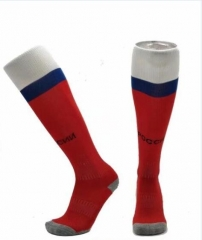 Youth Russia Home Red Soccer Sock 2018