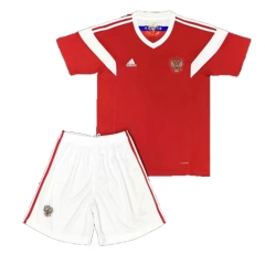2018 Youth Russia Home Red Soccer Kits