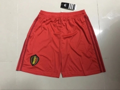 Belgium Home Red 2018 World Cup Short Pants