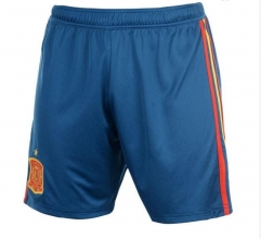 2018 Men's Spain Home Blue Short