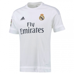 Player Version Adizero Real Madrid Home White Soccer Jersey Shirt 2015-16