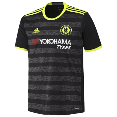 Chelsea Fc Third Away Black Soccer Jersey Shirt 2016-17