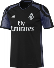 Real Madrid  Third Ucl Soccer Jersey Shirt 2016-17