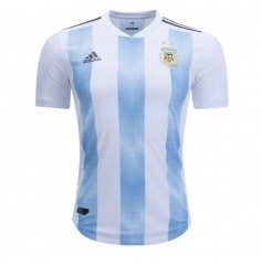 Player Version Argentina Home Soccer Jersey Shirt 2018