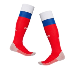 2018 Russia Home Red Soccer Sock