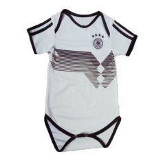 Baby Germany White Soccer Infant Crawl Suit 2018