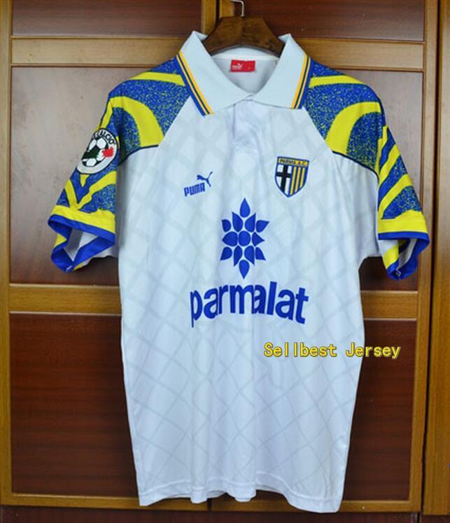 78610dc7194 Cannavaro  13 Parma Home Soccer Jersey 1996-97
