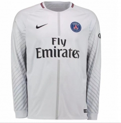 Paris White Goalkeeper Long Sleeve Soccer Jersey 2017/18