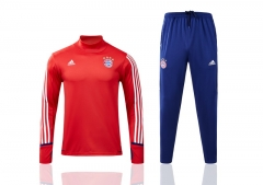 Youth Bayern Red Training Suit 2017-18