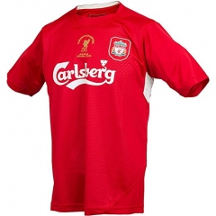 2005 Liverpool UCL Red Retro Jersey