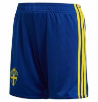 2018 Men's Sverige Home Blue Short