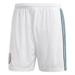 2018 Men's Mexico Home White Short