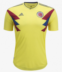 Player Version Colombia Home World Cup 2018 Soccer Jersey
