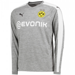 Borussia Dortmund Third Away Grey Long Sleeve Jersey 2017-18