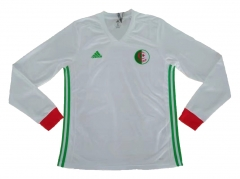 Algeria Home White Long Sleeve Jersey 2018