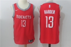 James Harden #13 Nike Houston Rockets Icon Edition Jersey - Red/White/Black