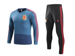 Youth Spain Borland World Cup 2018 V Neck Training Suit