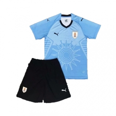 2018 World Cup Uruguay Home Blue Soccer Uniform