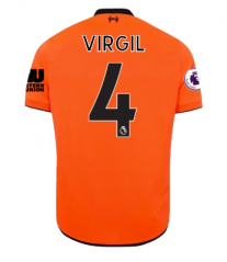 Liverpool Third Away #4 Virgil Van Dijk Soccer Jersey 2017-2018