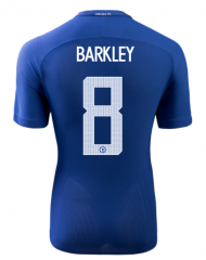 Chelsea Home #8 BARKLEY UCL Soccer Jersey 2017-2018