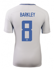 Chelsea Away #8 BARKLEY UCL Soccer Jersey 2017-2018