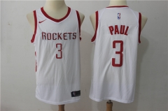 Chris Paul #3 Nike Houston Rockets Swingman Icon Jersey - White/Red/Black