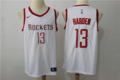 James Harden #13 Nike Houston Rockets Swingman Icon Jersey - White/Red/Black