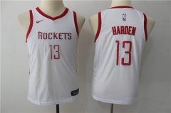 James Harden #13 Youth Nike Houston Rockets Swingman Icon Jersey - White/Red