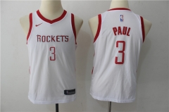 Chris Paul #3 Youth Nike Houston Rockets Swingman Icon Jersey - White/Red