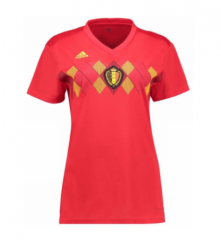 2018 Belgium Home Red Women's Soccer Shirt