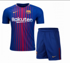 Youth Barcelona Home Kids Sets Thai AAA 2017/18