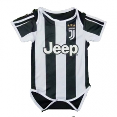 Baby Juventus Home Soccer Infant Crawl Suit 2018