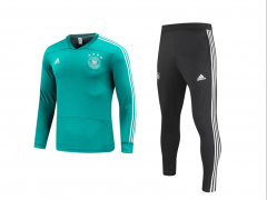 Youth Germany Green World Cup 2018 V Neck Training Suit