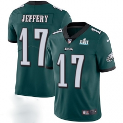 Alshon Jeffery Philadelphia Eagles  Super Bowl LII Bound Game Jersey - Black/Green