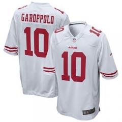 Jimmy Garoppolo San Francisco 49ers Game Jersey - White/Black/Red