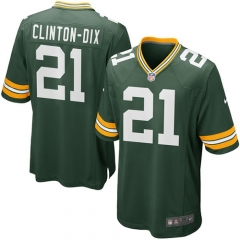 Ha Ha Clinton-Dix Green Bay Packers Game Jersey - Green