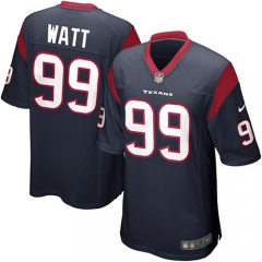 JJ Watt Houston Texans Game Jersey - Navy/White/Red