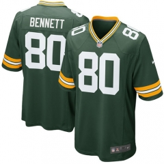 Martellus Bennett Green Bay Packers Game Jersey - Green
