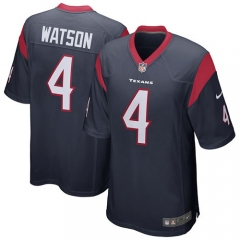 Deshaun Watson Houston Texans Game Jersey - Navy/White/Red